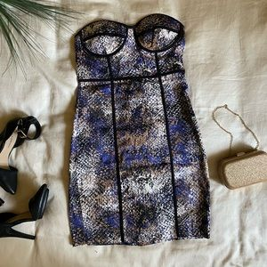 Evening fitted Dress